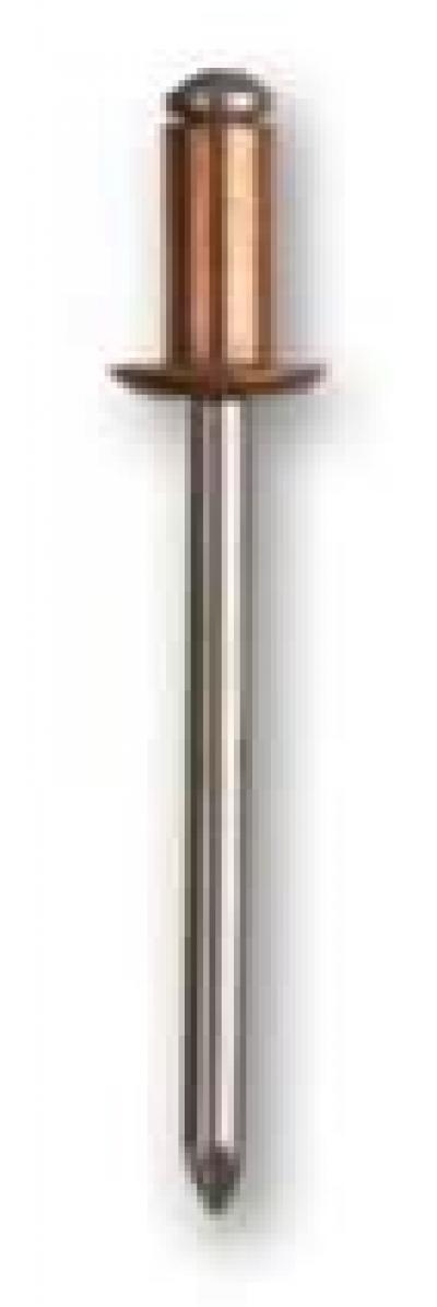 Měď/ocel s plochou hlavou